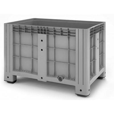 Цельнолитой пластиковый контейнер iBox 1200х800 (на четырёх ножках)