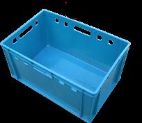 Ящик для мяса и колбасных изделий цветной (вторичный материал) Е-3/3038