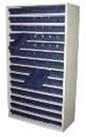 Металлические касетницы для пластиковых ящиков 9007.830(10полок), серии SK