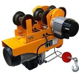 Мини электрическая таль с электрической тележкой 125/250 кг.