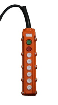 Пульт для тали эл. CD1, 6 кнопок