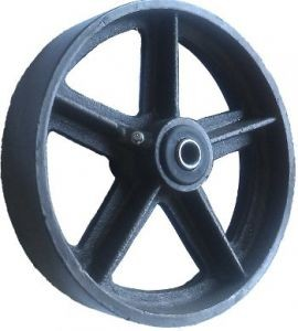 Колеса болшегрузные цельнометаллические 960125, D 125 мм