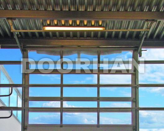 Панорамные секционные ворота DoorHan ISD02
