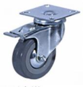 Колесные опоры аппаратные поворотные с тормозом 933100, D 100 мм