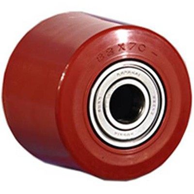 Подвилочный ролик с полиуретановым покрытием 30103, D 80 м