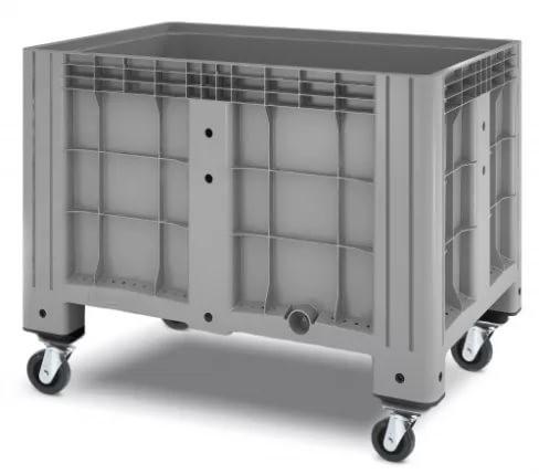 Цельнолитой полимерный контейнер на колесах Ibox 11.602F.91.РЕ.С13