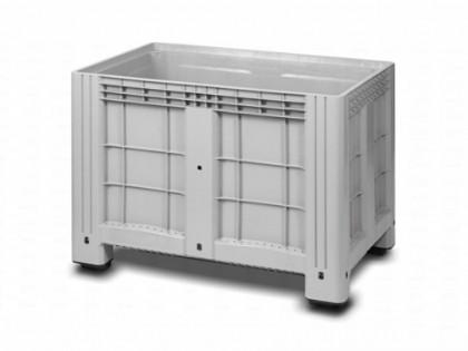 Цельнолитой полимерный контейнер на 4-х ножках Ibox 11.602F.91.РЕ.С10