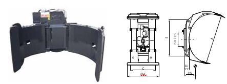 Захваты для рулонов CR2066