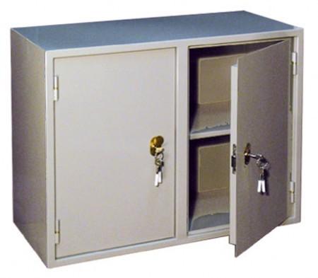 Металлический бухгалтерский шкаф КБ - 09 / КБС - 09.