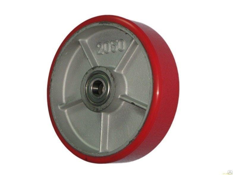 Колеса тяжелогрузные 914250, D 250 мм