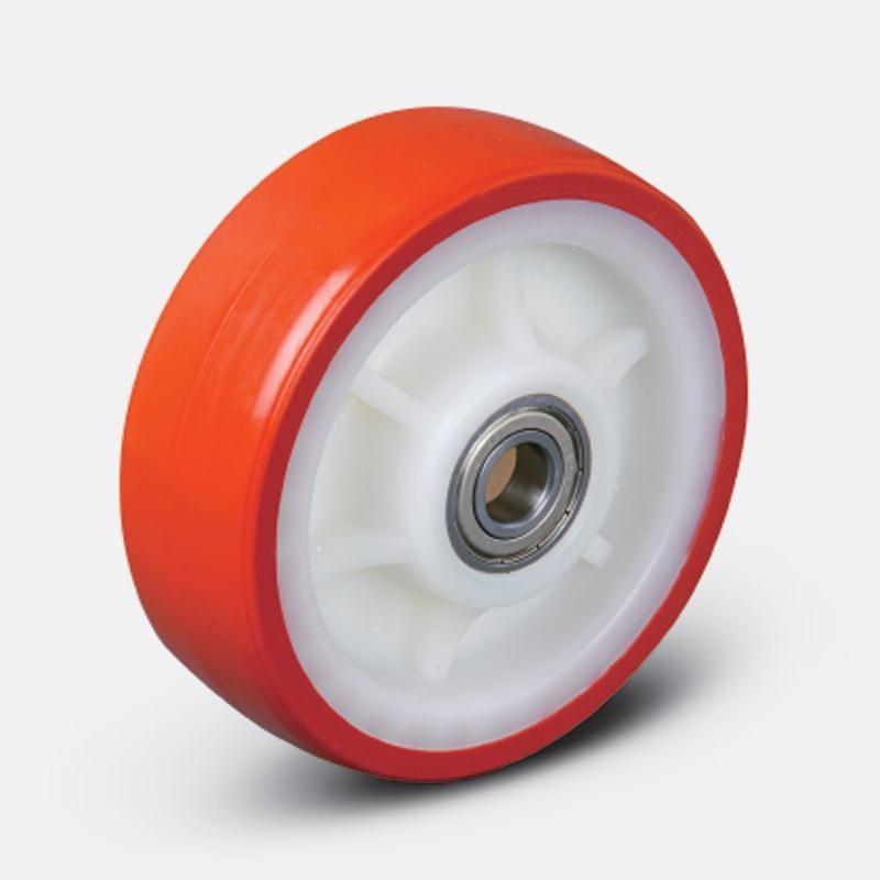 Колеса тяжелогрузные серии ZBP, D 100 мм