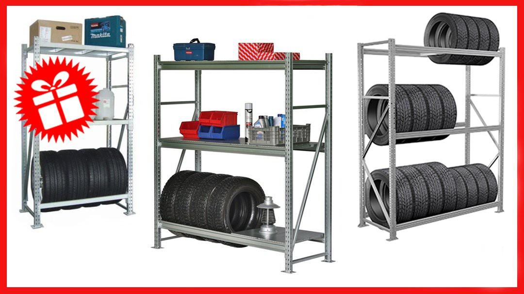Стеллаж для гаража по индивидуальным параметрам