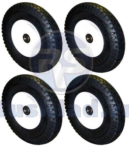 Комплект колёс (4 шт.) пневматические