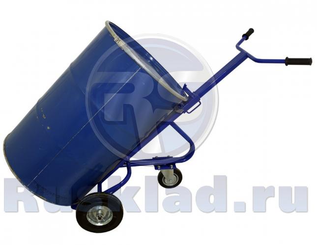 Бочкокат. Тележка для транспортировки металлических бочек КБ 1