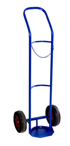 Тележка двухколёсная для баллонов ГБ-1 (колеса литая резина)