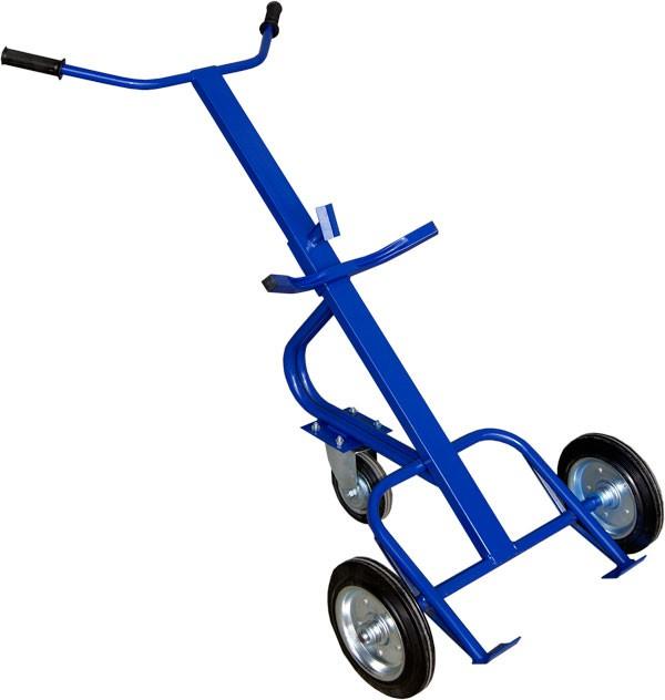 Тележка двухколёсная КБ-1 (колеса литая резина)