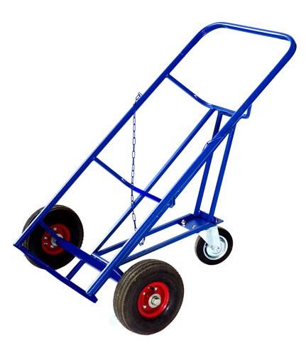 Тележка двухколёсная КБ-2 (колеса литая резина)