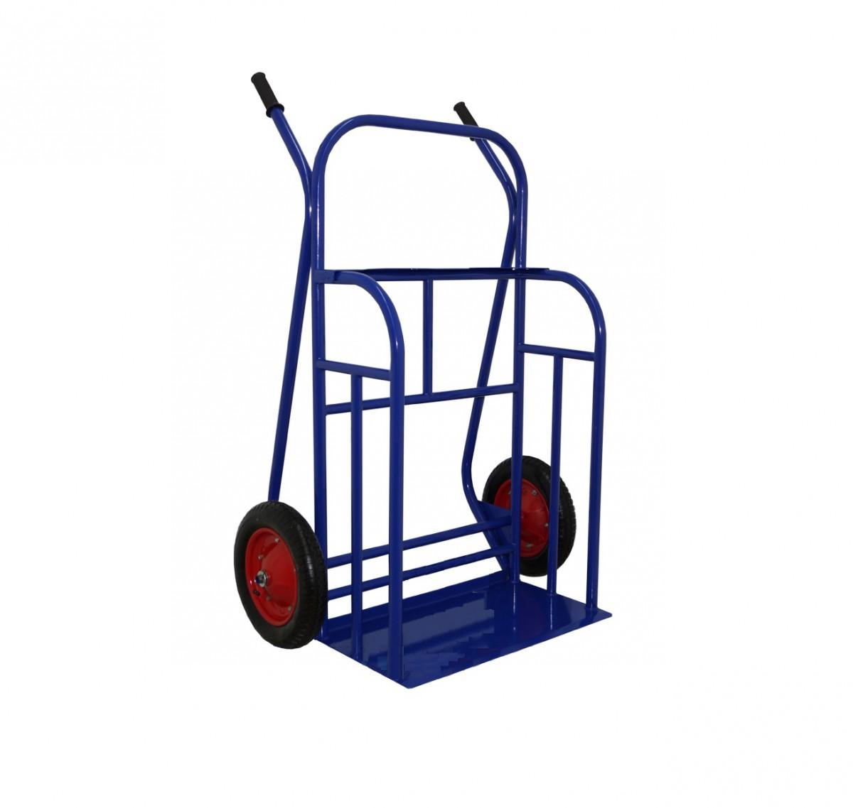 Тележка двухколёсная М-1 (колеса литая резина)